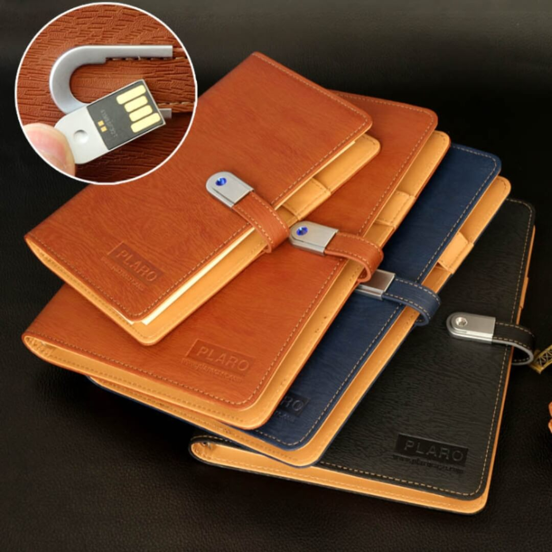 Diary with USB