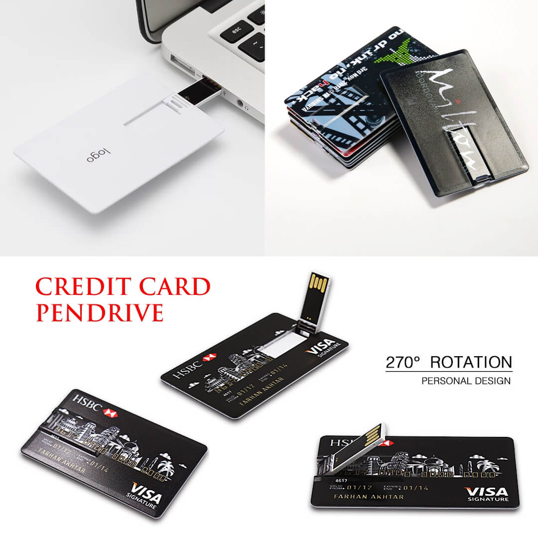 Credit Card Shape Pendrive