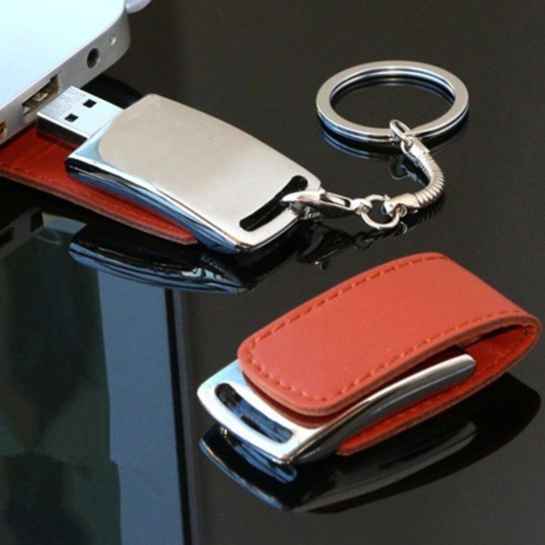 Executive Leather USB Pendrive
