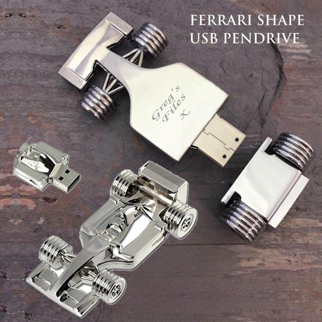 Ferrari Shape Pendrive