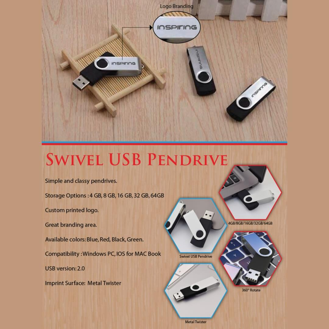 Swivel USB Pendrive