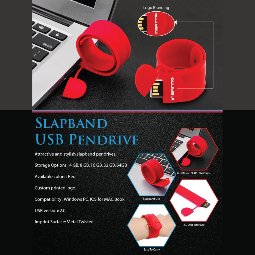 Slap Band USB Pendrive