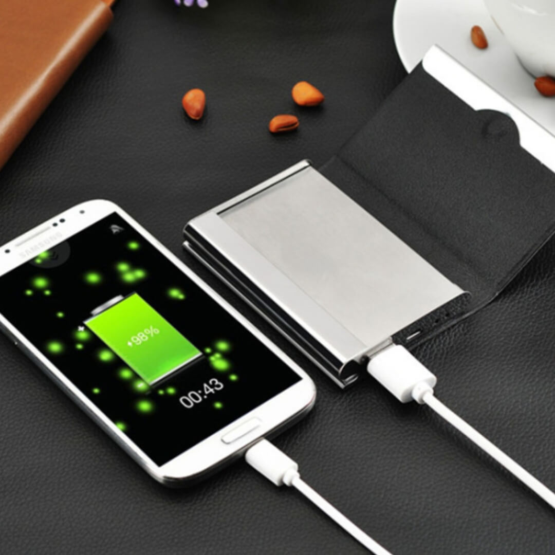Visiting Card Holder Powerbank 2500mAH