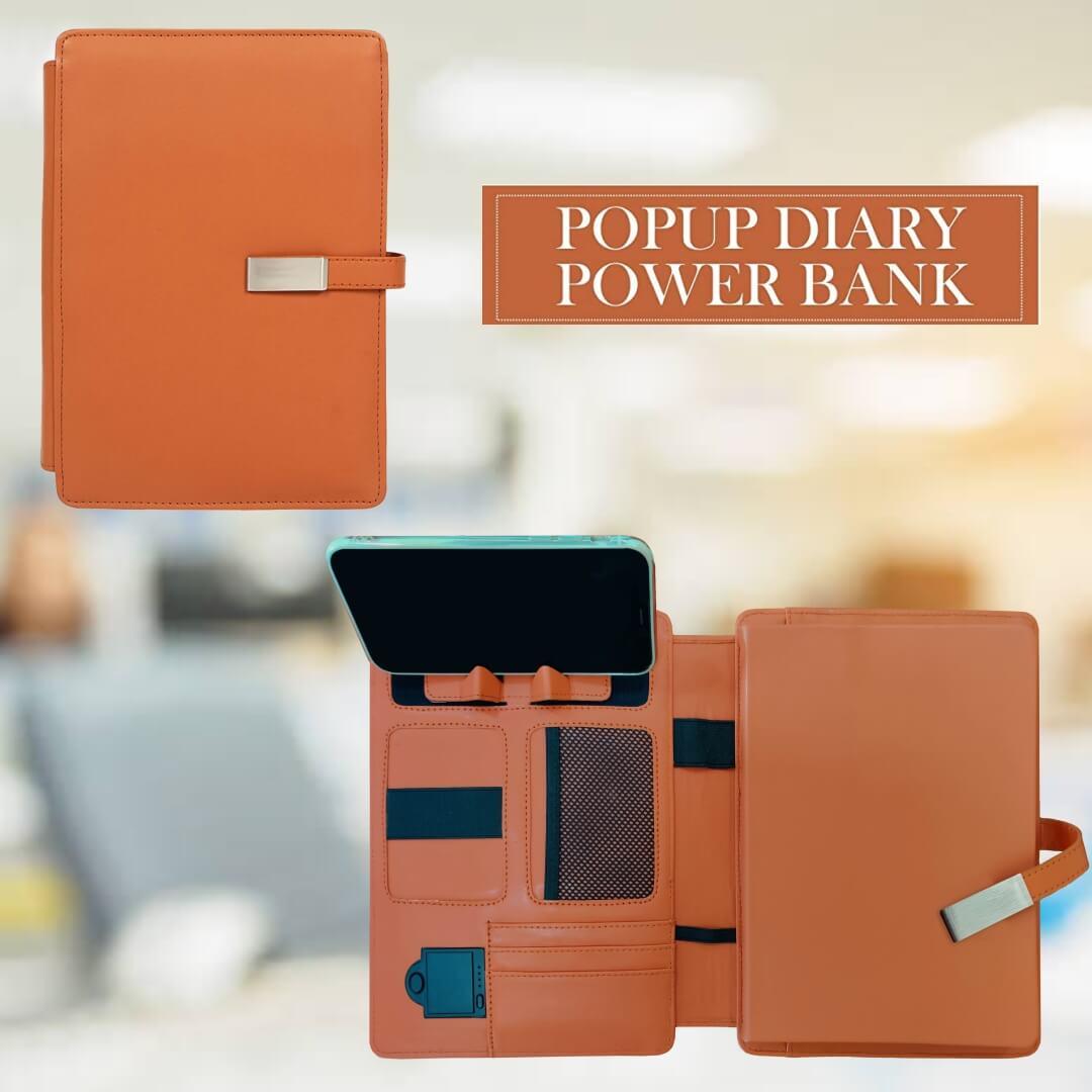 Pop Up Diary Power Bank 5000mAH