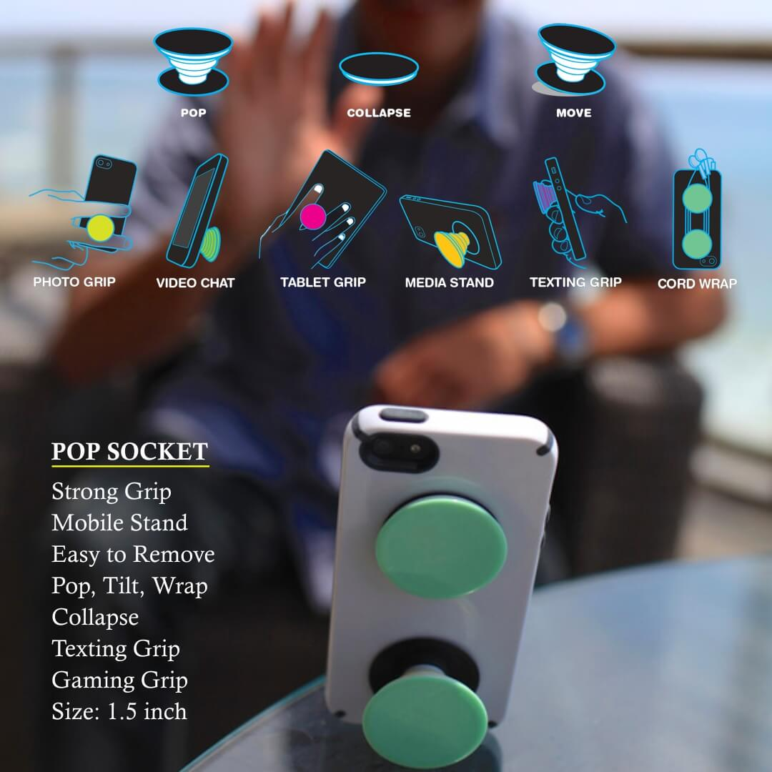 Pop Socket Mobile Holder