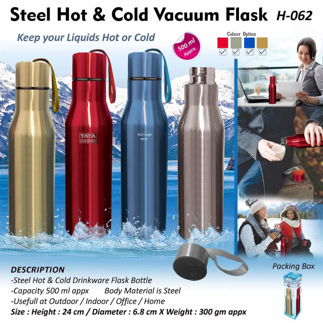Steel Hot and Cold Vacuum Flask 062 (500 ml)