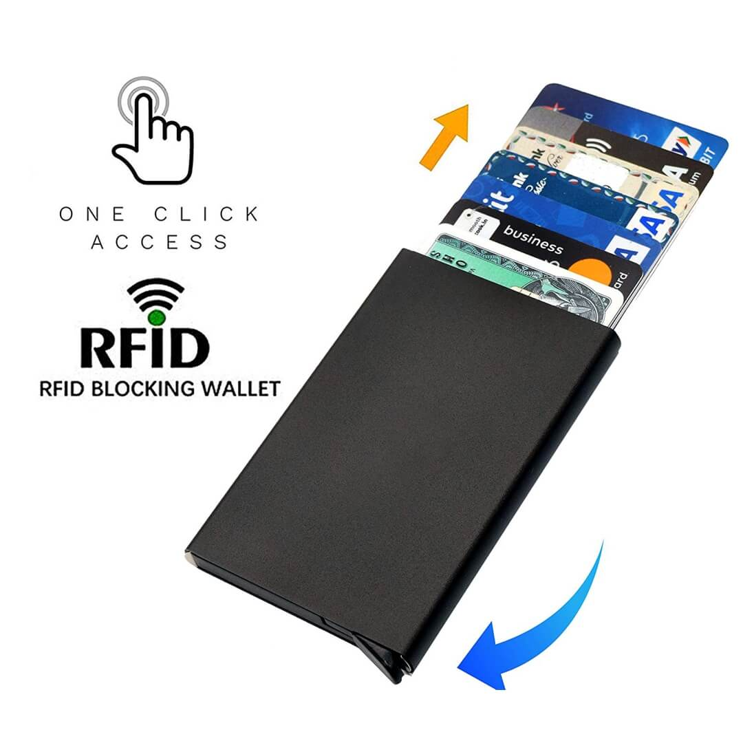 RFID Credit Card Holder Smart Wallet
