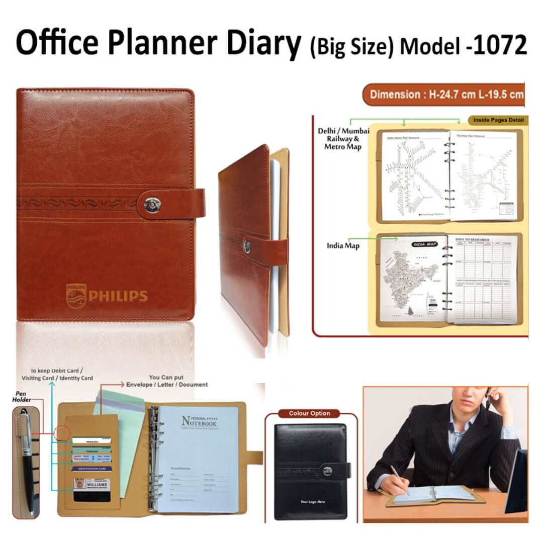 Office Planner Diary 1072
