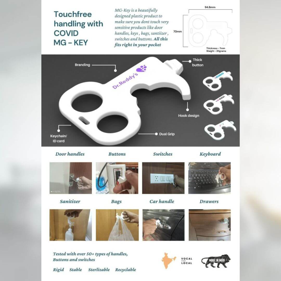 Touchless COVID Key