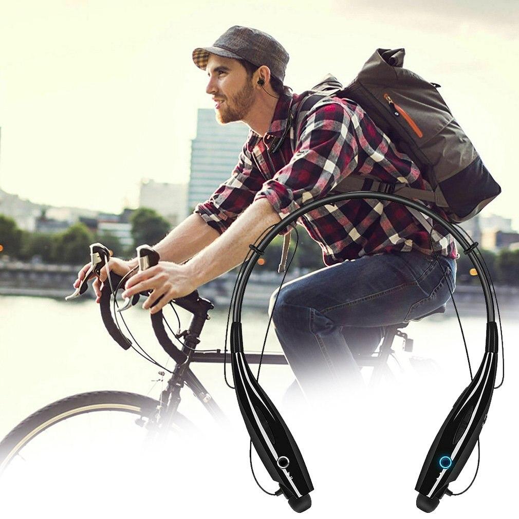 HBS 730 Neckband Wireless Earphones With Mic