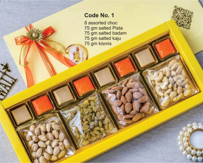 Dry Fruits and Chocolates