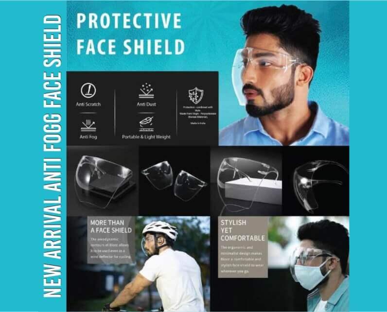 Anti-Fogg Face Shield
